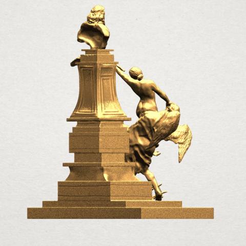 Statue 02 - A06.png Télécharger fichier STL gratuit Statue 02 • Plan pour impression 3D, GeorgesNikkei