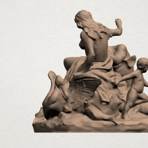 Naked Couple (vi) A04.png Download free STL file  Naked Couple 06 • 3D printing object, GeorgesNikkei