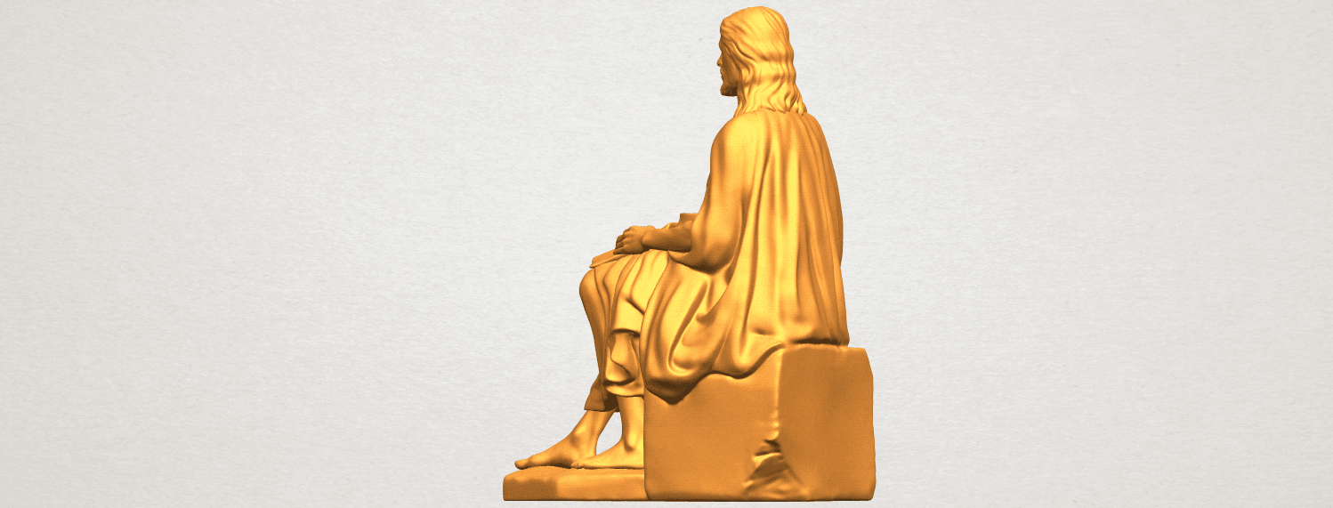 A02.png Download free STL file Jesus 06 • 3D printer object, GeorgesNikkei