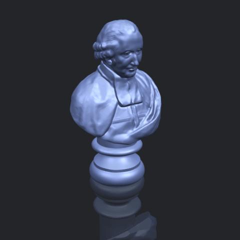 24_TDA0620_Sculpture_of_a_head_of_man_02B00-1.png Télécharger fichier STL gratuit Sculpture d'une tête d'homme 02 • Design à imprimer en 3D, GeorgesNikkei