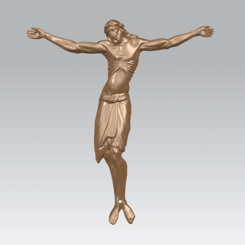 TDA0230 Jesus (iv) A02.png Download free STL file Jesus 04 • Template to 3D print, GeorgesNikkei