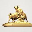 Bull (iii) A04.png Télécharger fichier STL gratuit Taureau 03 • Plan imprimable en 3D, GeorgesNikkei