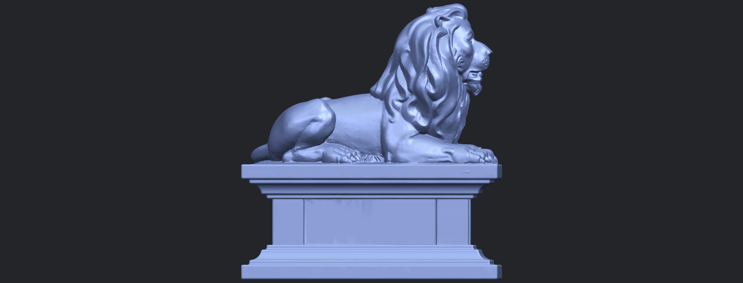 01_TDA0499_Lion_04B09.png Download free STL file Lion 04 • Template to 3D print, GeorgesNikkei