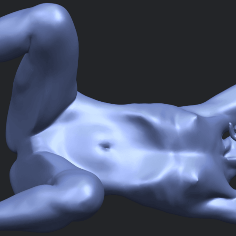 18_TDA0280_Naked_Girl_A07B03.png Download free STL file Naked Girl A07 • 3D printable template, GeorgesNikkei