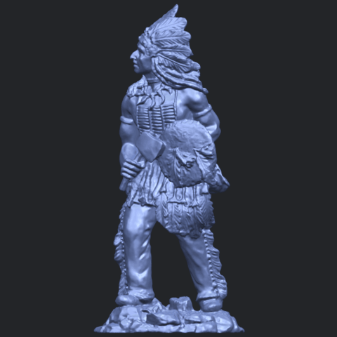 13_TDA0240_Red_IndianB02.png Download free STL file Red Indian • 3D print template, GeorgesNikkei