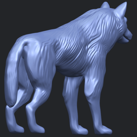 14_TDA0610_WolfB05.png Download free STL file Wolf • 3D printable design, GeorgesNikkei