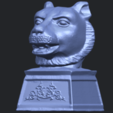 20_TDA0510_Chinese_Horoscope_of_Tiger_02B02.png Download free STL file Chinese Horoscope of Tiger 02 • 3D print object, GeorgesNikkei