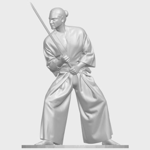 05_TDA0544_Japanese_WarriorA01.png Download free STL file Japanese Warrior • 3D printer model, GeorgesNikkei
