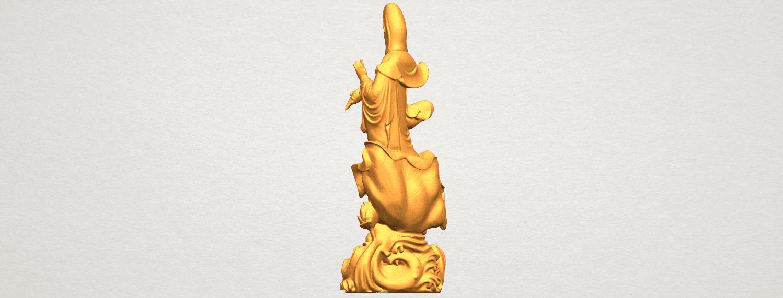 TDA0298 Avalokitesvara Bodhisattva - Standing (vi) A05.png Télécharger fichier STL gratuit Avalokitesvara Bodhisattva - Debout 06 • Objet pour impression 3D, GeorgesNikkei