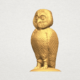 TDA0594 Owl 03 A02.png Download free STL file Owl 03 • 3D printing object, GeorgesNikkei