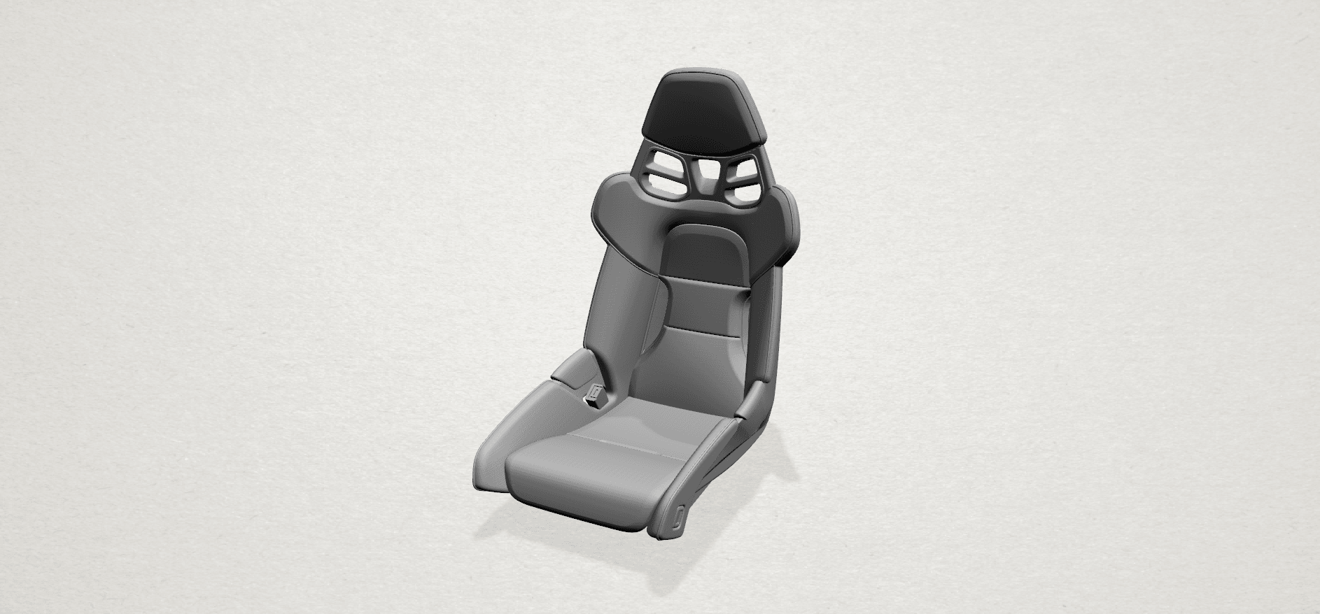 Seat -A01.png Download free STL file Car Seat • 3D printing design, GeorgesNikkei