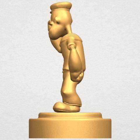 TDA0482 Popeye A03.png Download free STL file Popeye • 3D printer design, GeorgesNikkei