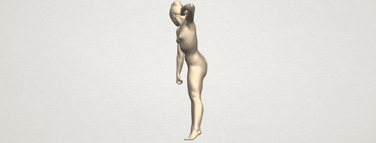 TDA0281 Naked Girl A08 03.png Download free STL file Naked Girl A08 • Template to 3D print, GeorgesNikkei