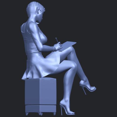 19_TDA0471_Beautiful_Girl_05_B08.png Download free STL file Beautiful Girl 05 • 3D printing template, GeorgesNikkei