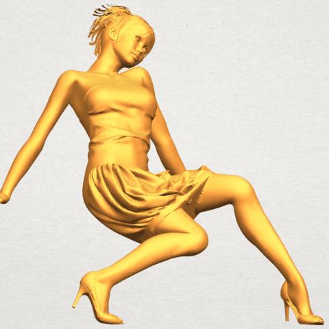 A10.png Télécharger fichier STL gratuit Fille nue G09 • Design pour impression 3D, GeorgesNikkei