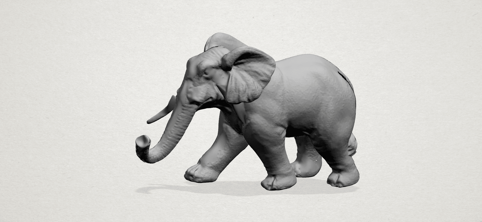 Elephant 01 -A01.png Download free STL file Elephant 01 • 3D printer design, GeorgesNikkei
