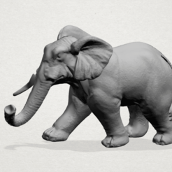Download free STL file Elephant 01 • 3D printer design, GeorgesNikkei