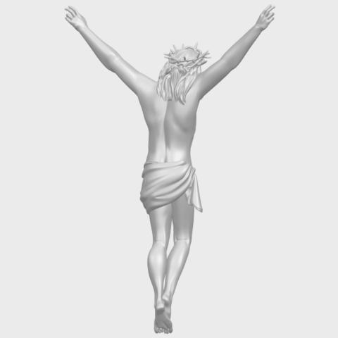 05_TDA0231_Jesus_(ii)_88mmA07.png Download free STL file Jesus 02 • 3D printing template, GeorgesNikkei