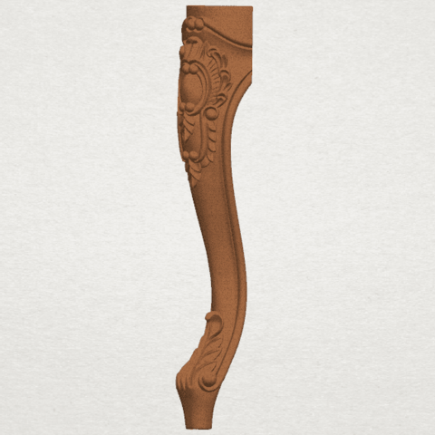 TDA0457 Table Leg (vi) A02.png Download free STL file Table Leg 06 • Template to 3D print, GeorgesNikkei