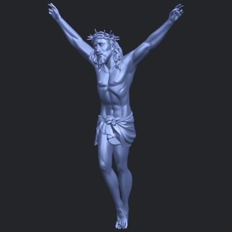 05_TDA0231_Jesus_(ii)_88mmB02.png Download free STL file Jesus 02 • 3D printing template, GeorgesNikkei