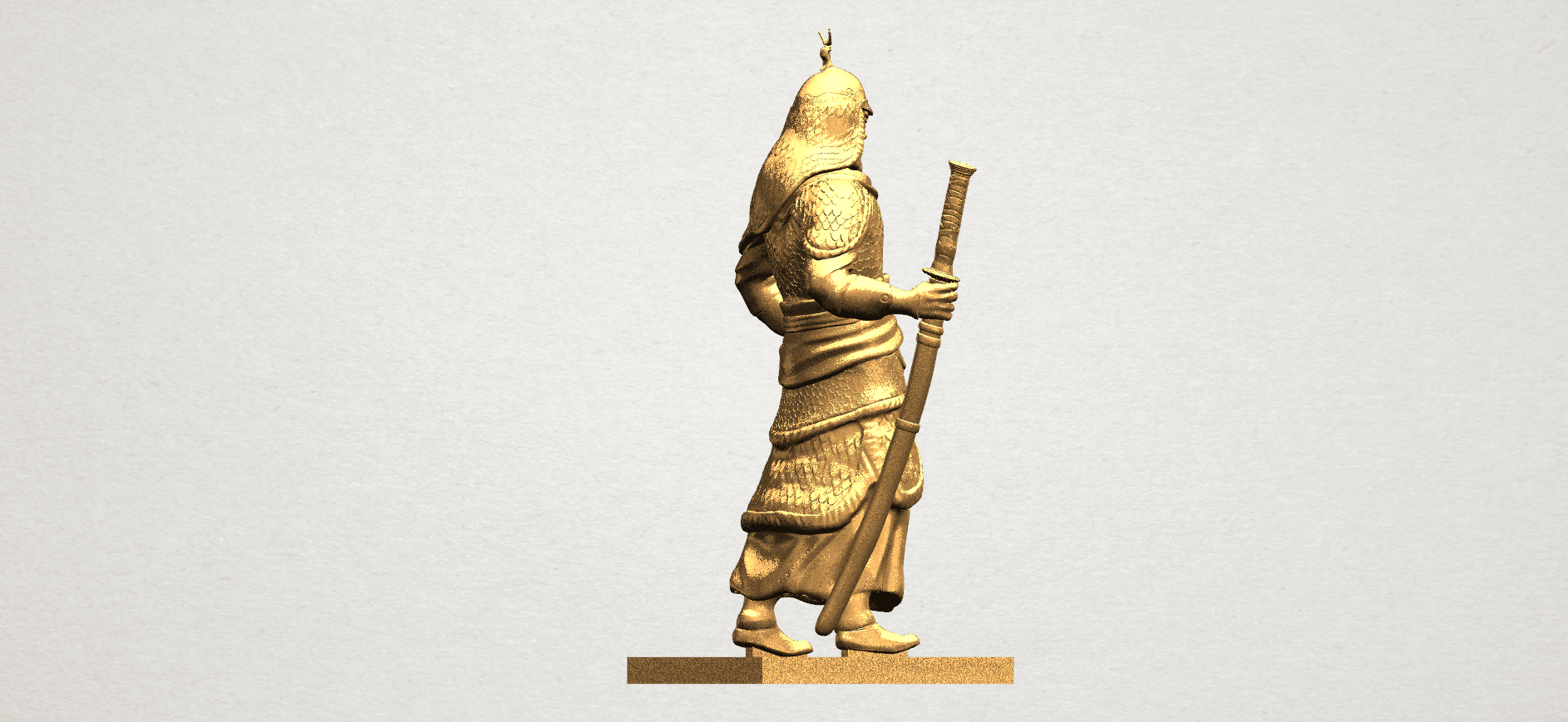 Age of Empire - warrior -C07.png Download free STL file Age of Empire - warrio • 3D print design, GeorgesNikkei