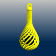 C02.png Download free STL file Necklaces - Twisted Vase • 3D print design, GeorgesNikkei