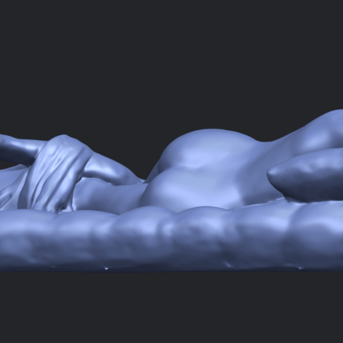 01_Naked_Body_Lying_on_Bed_ii_31mmB02.png Download free STL file Naked Girl - Lying on Bed 02 • Object to 3D print, GeorgesNikkei