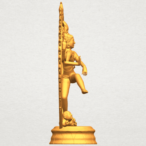 A09.png Download free STL file Shiva King • 3D printing template, GeorgesNikkei