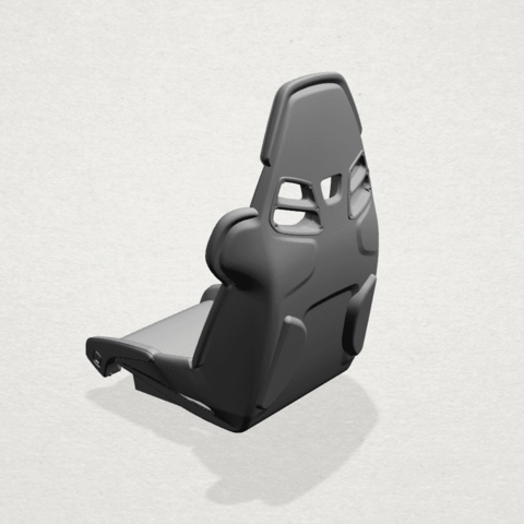 Seat -A02.png Download free STL file Car Seat • 3D printing design, GeorgesNikkei