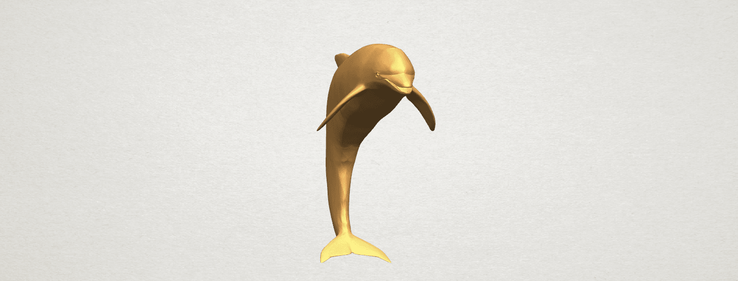 TDA0613 Dolphin 03 A06.png Download free STL file Dolphin 03 • Design to 3D print, GeorgesNikkei