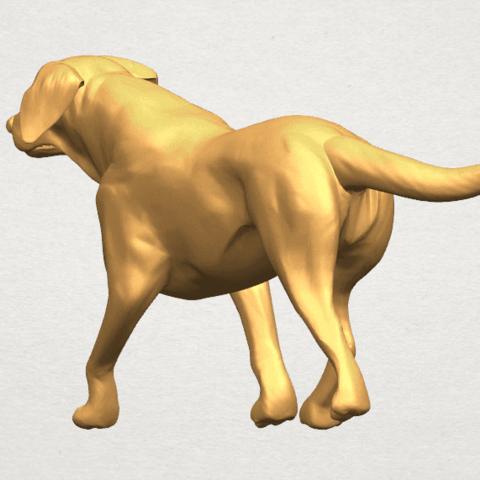 TDA0527 Dog 01 A07.png Download free STL file Dog 01 • 3D printer template, GeorgesNikkei