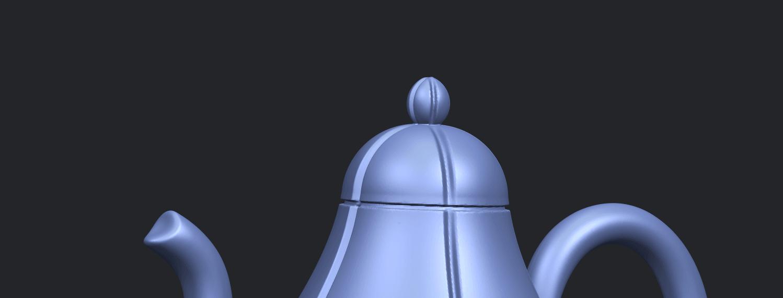 19_TDA0323_Tea_Pot_iiA10.png Download free STL file Tea Pot 02 • 3D printer template, GeorgesNikkei