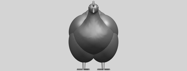 17_TDA0484_HenA01.png Télécharger fichier STL gratuit Poule • Design pour imprimante 3D, GeorgesNikkei