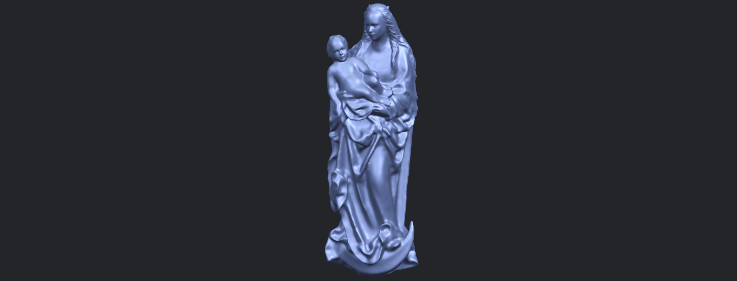 18_TDA0203_Mother_and_Child_(vi)_-88mmstlB02.png Download free STL file Mother and Child 06 • 3D printing template, GeorgesNikkei