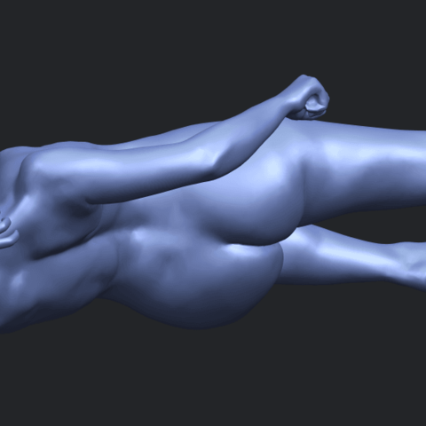 06_TDA0279_Naked_Girl_A06B08.png Download free STL file Naked Girl A06 • 3D printing template, GeorgesNikkei