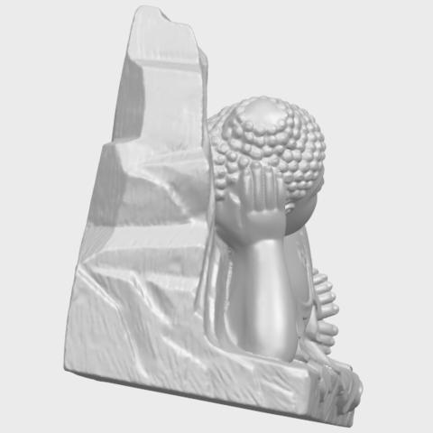 05_TDA0295_Sleeping_Buddha_iiiA09.png Télécharger fichier STL gratuit Bouddha Dormant 03 • Objet à imprimer en 3D, GeorgesNikkei