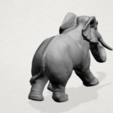 Elephant 01 -A03.png Download free STL file Elephant 01 • 3D printer design, GeorgesNikkei