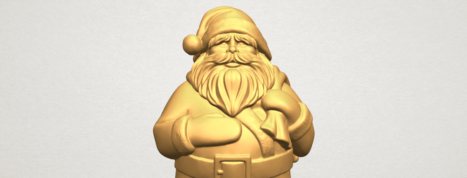 TDA0579 Santa Claus A10.png Download free STL file Santa Claus • Object to 3D print, GeorgesNikkei