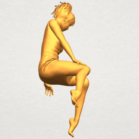 A08.png Download free STL file Naked Girl E07 • 3D printing object, GeorgesNikkei