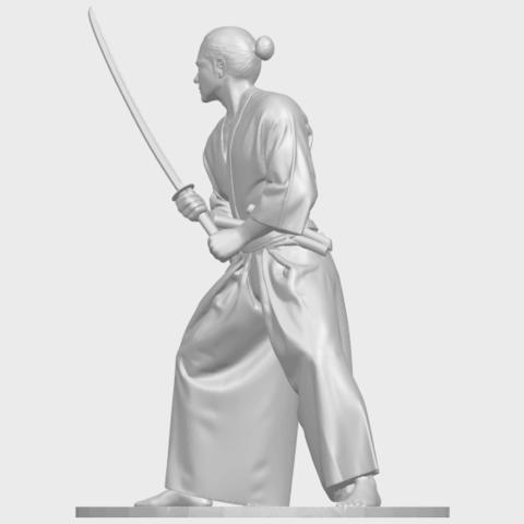 05_TDA0544_Japanese_WarriorA03.png Download free STL file Japanese Warrior • 3D printer model, GeorgesNikkei