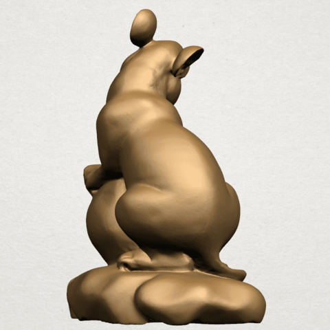 Chinese Horoscope01-A02.png Download free STL file Chinese Horoscope 01 Rat • 3D printing object, GeorgesNikkei