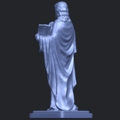 19_TDA0237_Jesus_vB05.png Download free STL file Jesus 05 • 3D print object, GeorgesNikkei