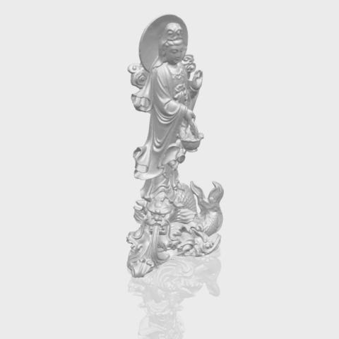 07_TDA0197_Avalokitesvara_Buddha_(with_fish)_(ii)_88mmA00-1.png Download free STL file Avalokitesvara Bodhisattva (with fish) 02 • 3D printer template, GeorgesNikkei