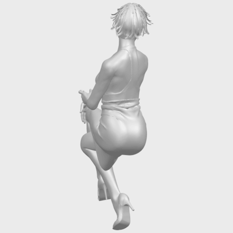16_TDA0666_Naked_Girl_H04A09.png Download free STL file Naked Girl H04 • 3D printing object, GeorgesNikkei