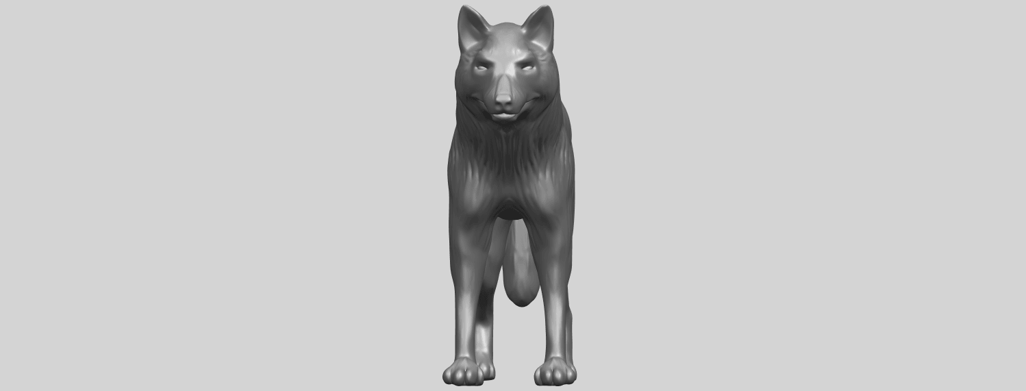 14_TDA0610_WolfA09.png Download free STL file Wolf • 3D printable design, GeorgesNikkei