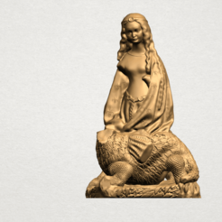 Free 3D printer model Saint Margaret , GeorgesNikkei