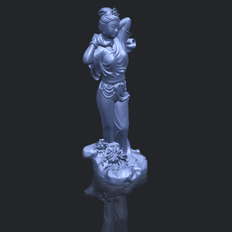 18_TDA0447_Fairy_02B00-1.png Download free STL file Fairy 02 • 3D printing object, GeorgesNikkei