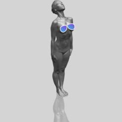 3D file Naked Girl J04, Miketon