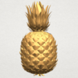 TDA0552 Pineapple A03.png Download free STL file Pineapple • 3D printer design, GeorgesNikkei