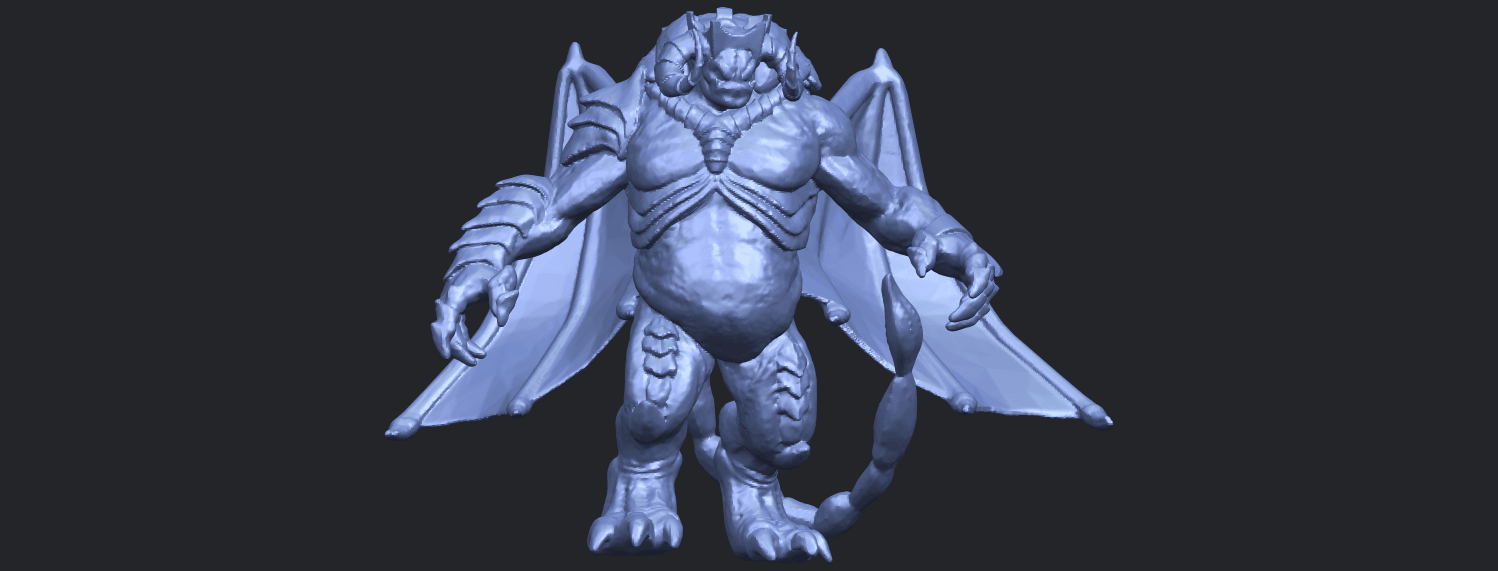 18_TDA0217_Monster_iB01.png Download free STL file Monster 01 • 3D printable template, GeorgesNikkei